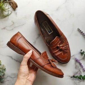 Cole Haan Bragano Italian leather tassel loafer